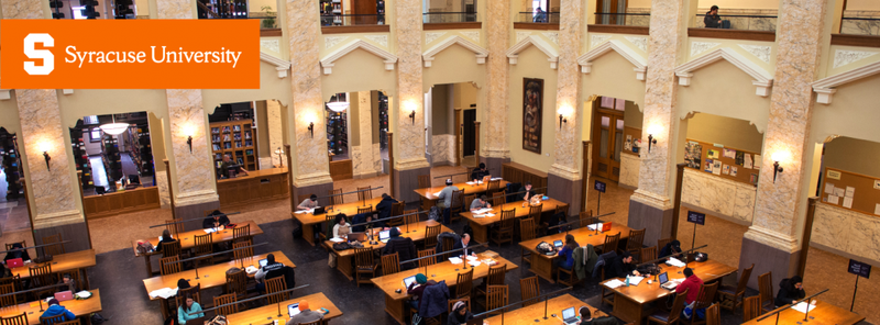 Cover photo of the inside of Carnegie Library