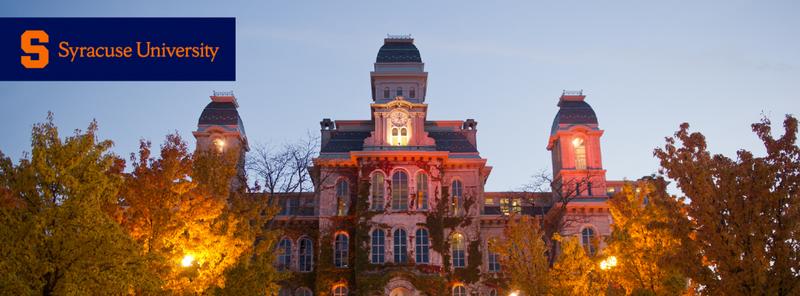 Cover photo of Hall of Languages in the evening
